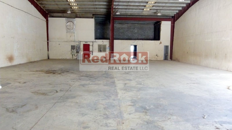 Insulated 6250 Sqft Warehouse with Office, Washroom & Pantry in DIP