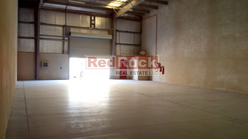 Aed 99K/Yr for 2500 Sqft Tidy Warehouse in Jebel Ali