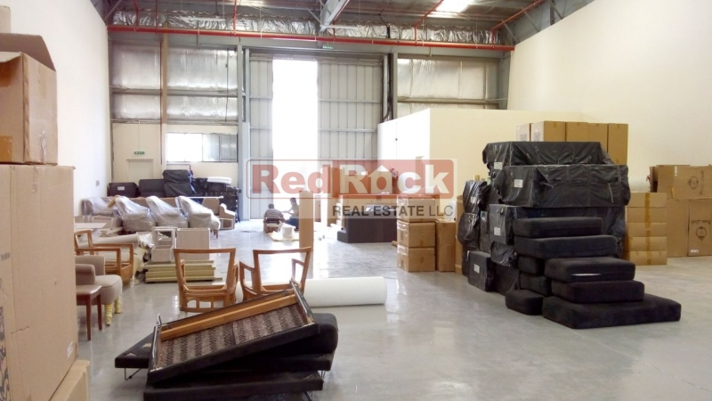Corner 4069 Sqft Warehouse with High Power in Prime Location of DIP