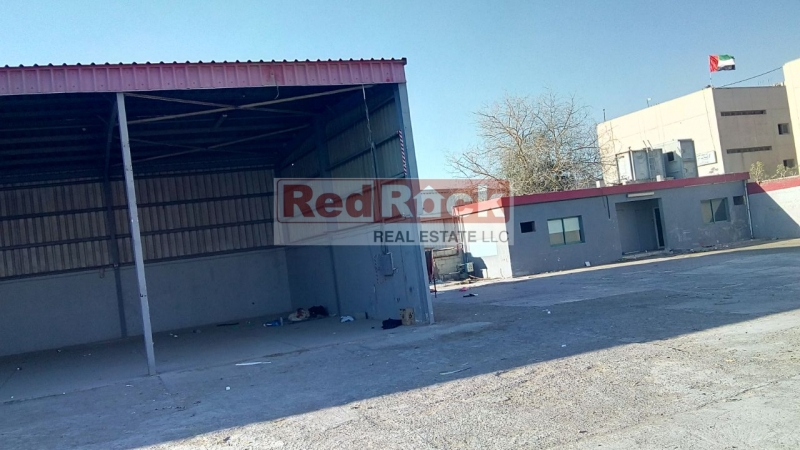 Extremely Good Location in Al Quoz 22,000 Sqft Land with Classic Office