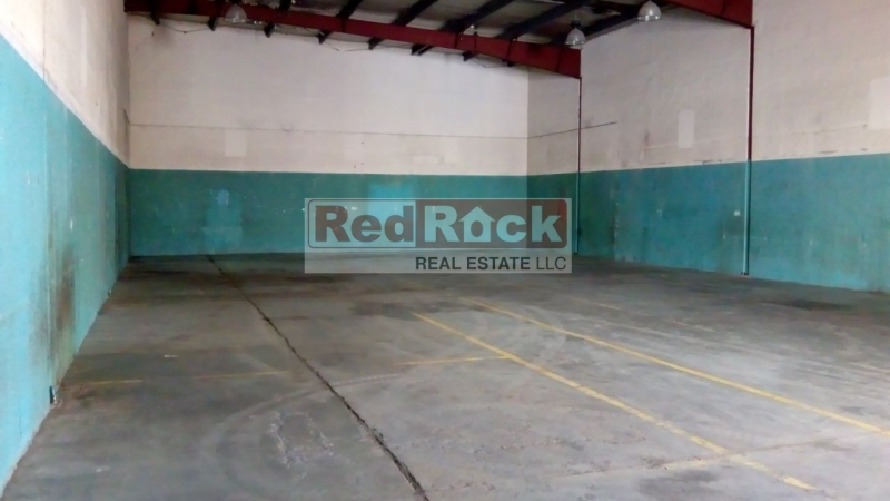 No Tax 3173 Sqft Warehouse on Sheikh Zayed Road for Storage only
