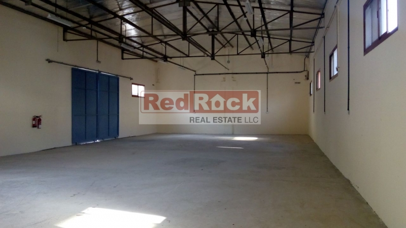 Industrial 3052 Sqft Warehouse with 80 KW Power in Al Quoz
