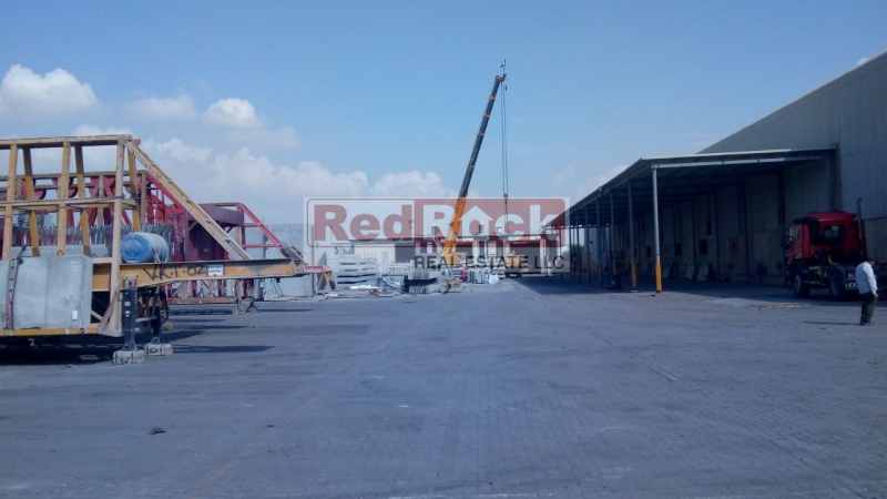 Independent 106,000 Sqft OpenLand with Industrial 35,000 Sqft Warehouse in Al Quoz