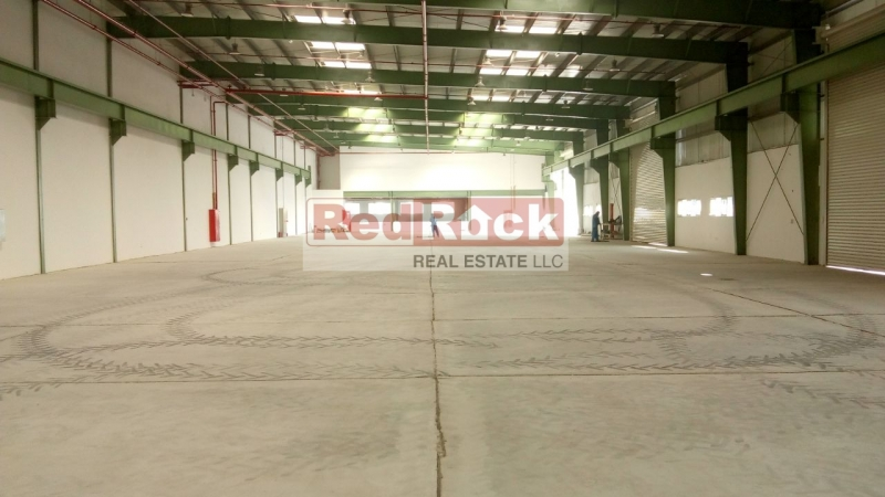 Independent 19,242 Sqft Warehouse with 360 KW Power in Jebel Ali