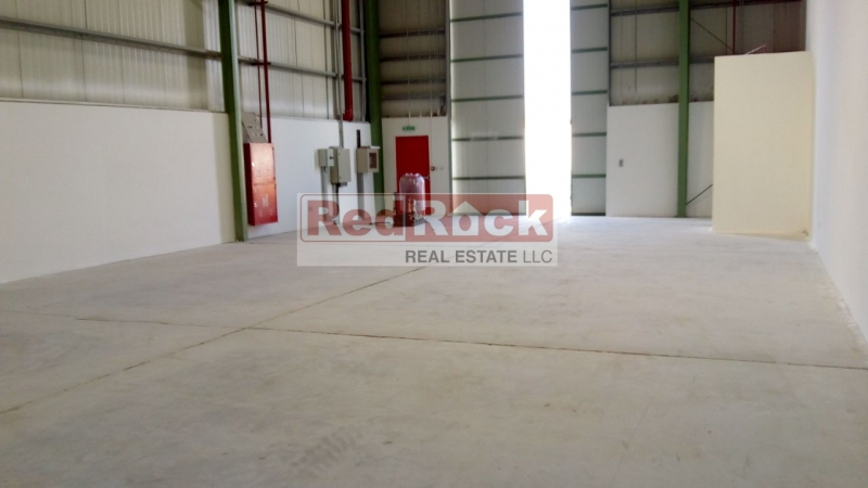 With 45 KW Power 2200 Sqft Warehouse in Jebel Ali