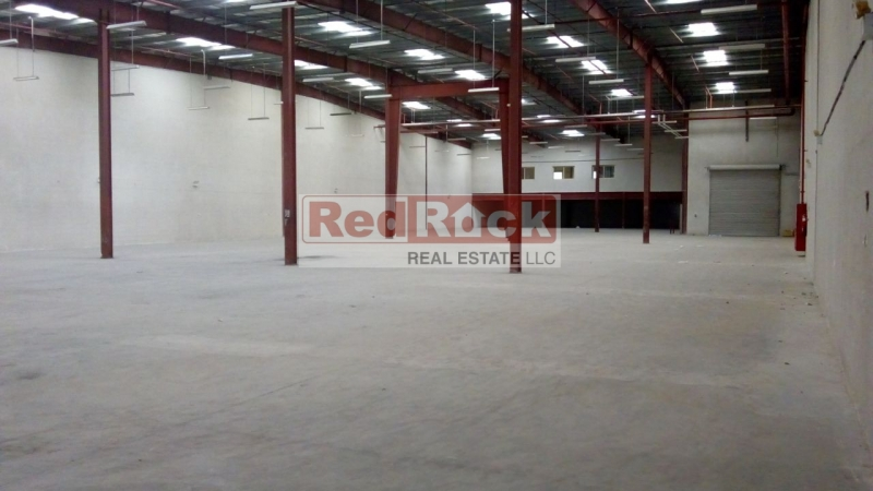With 650 KW Power 23,304 Sqft Commercial Warehouse in DIP