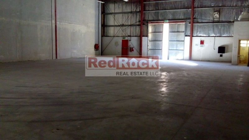 Best Location 4944 Sqft Warehouse in DIP for Aed 34/Sqft