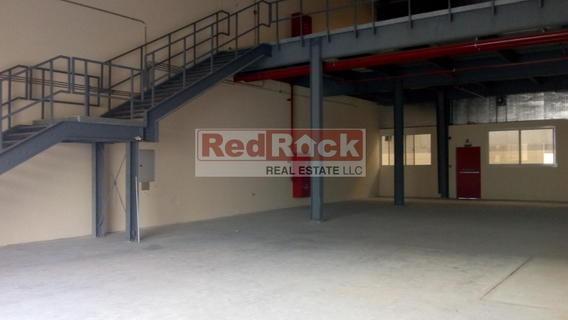 Stunning Brand New 3322 Sqft Warehouse with Mezzanine in Al Quoz