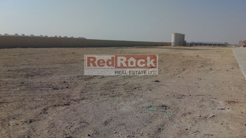 Ideal for Heavy Vehicles Storage 110,000 Sqft OpenLand in DIC