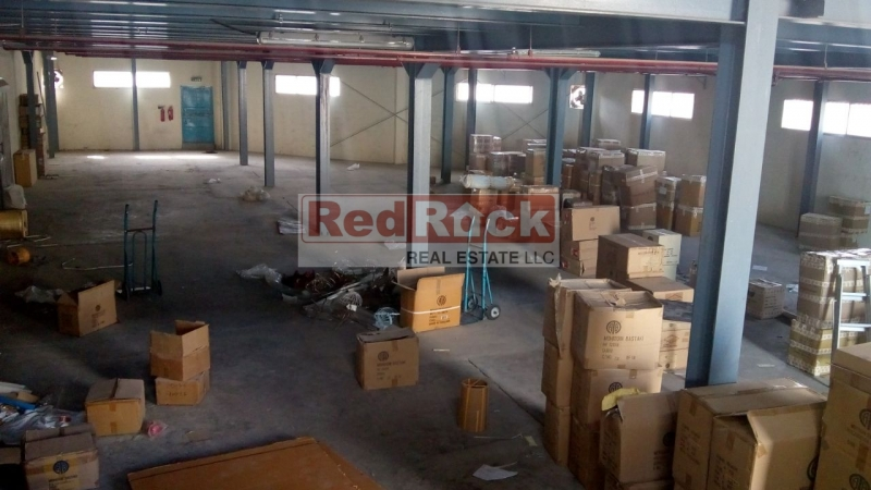 Low Priced 7250 Sqft Warehouse on Main Road in Al Quoz