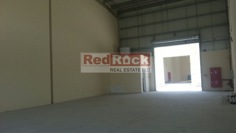 No Tax 2180 Sqft Warehouse in an Excellent Location of Al Quoz