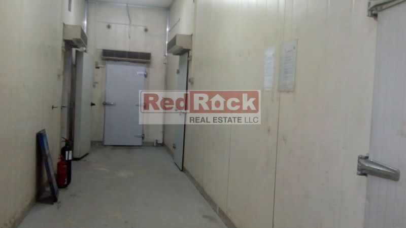 On Sheikh Zayed Road Ideal for Cold Storage or Food Stuffs 6346 Sqft Warehouse