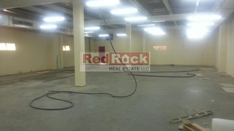 For Sale Independent 15,000 Sqft Warehouse with 362 KW Power in Al Quoz