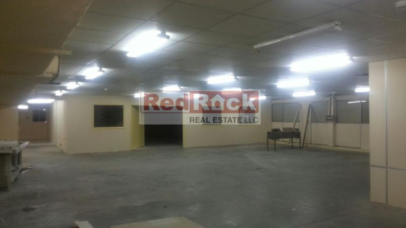 For Sale 15,000 Sqft Industrial Warehouse with 380 KW Power in Al Quoz