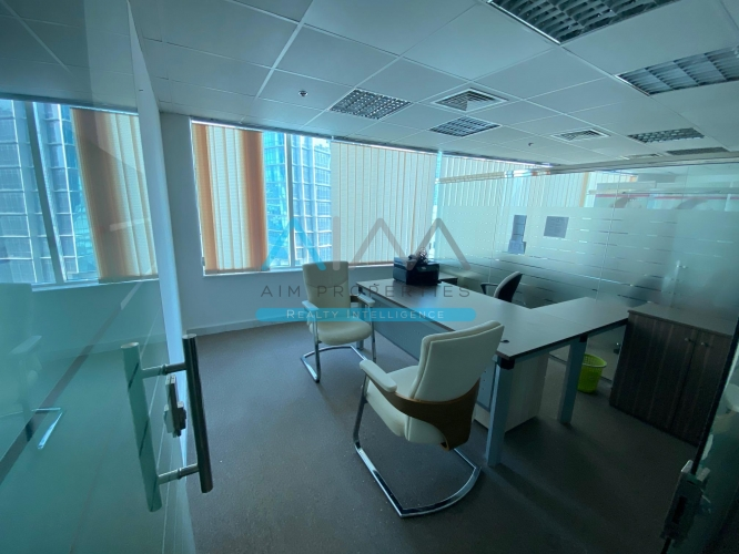 Fully Furnished Partitioned Office for rent | Business Bay | Dubai