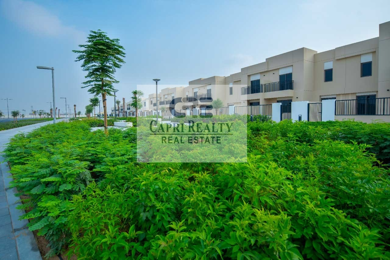 CLOSE TO POOL l SINGLE ROW l TYPE 4 l PARK VIEW l NOOR TOWNHOUSES