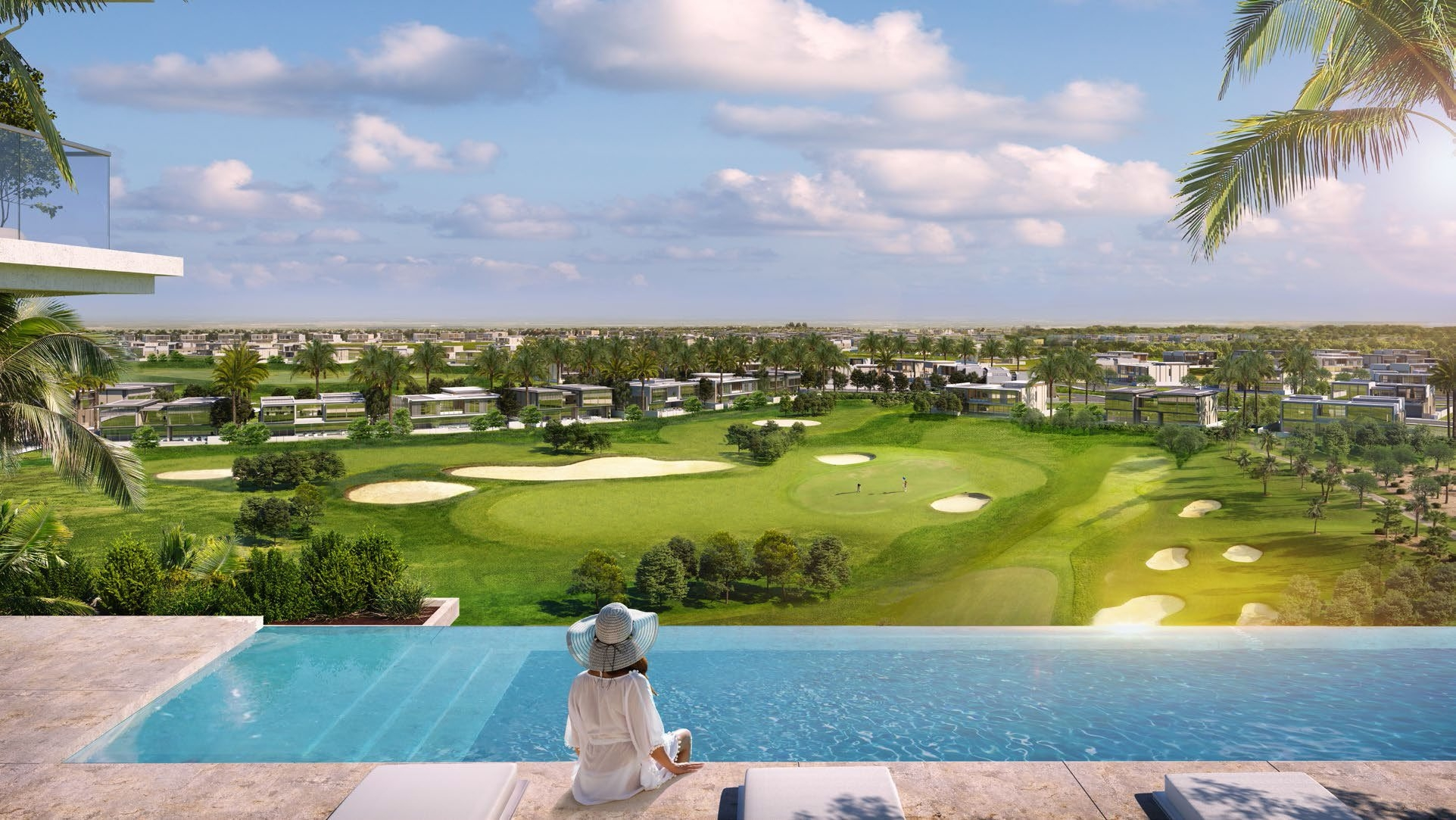 Pay in 4 years   Golf course  Post handover