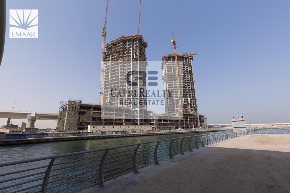Only Brand New EMAAR tower| 80% Mortgage|Sea View
