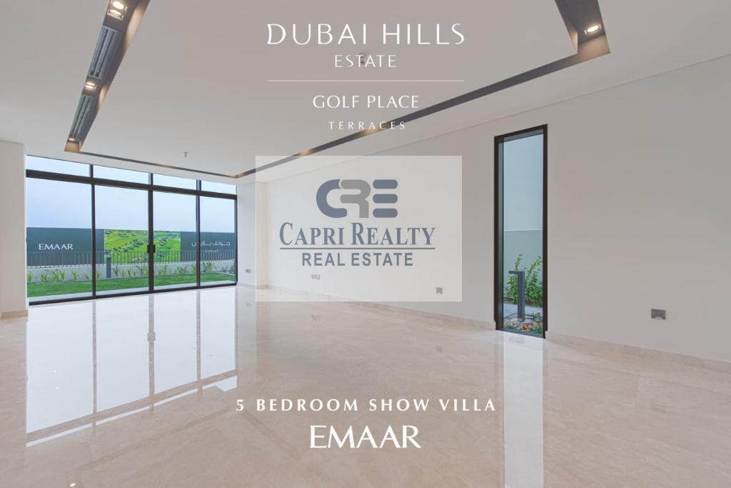 Sky Terrace Mansions on Golf course by EMAAR
