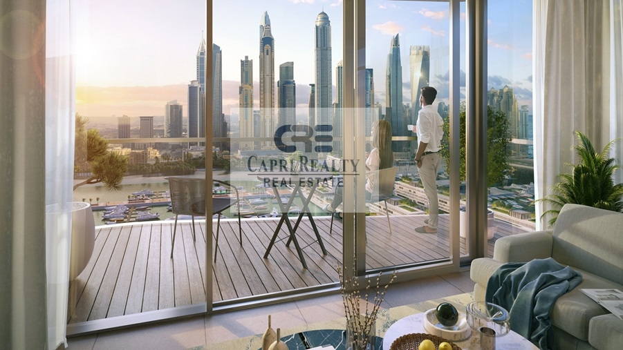 Pay in 5 years Beach access Sea and Marina View  EMAAR