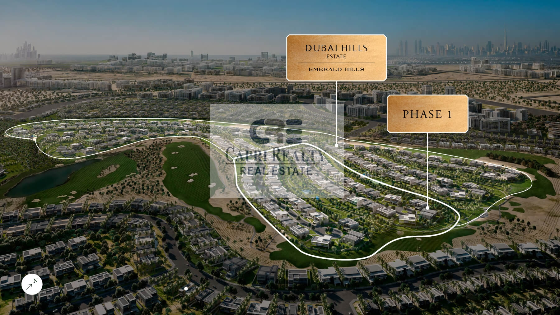 Pay in 5 years  Independent villa on golf course by EMAAR