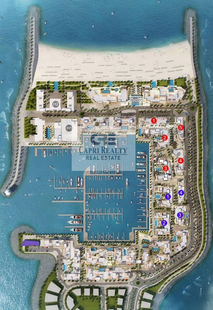 BEACH ACCESS | YACHT CLUB| PARTIAL SEA VIEW
