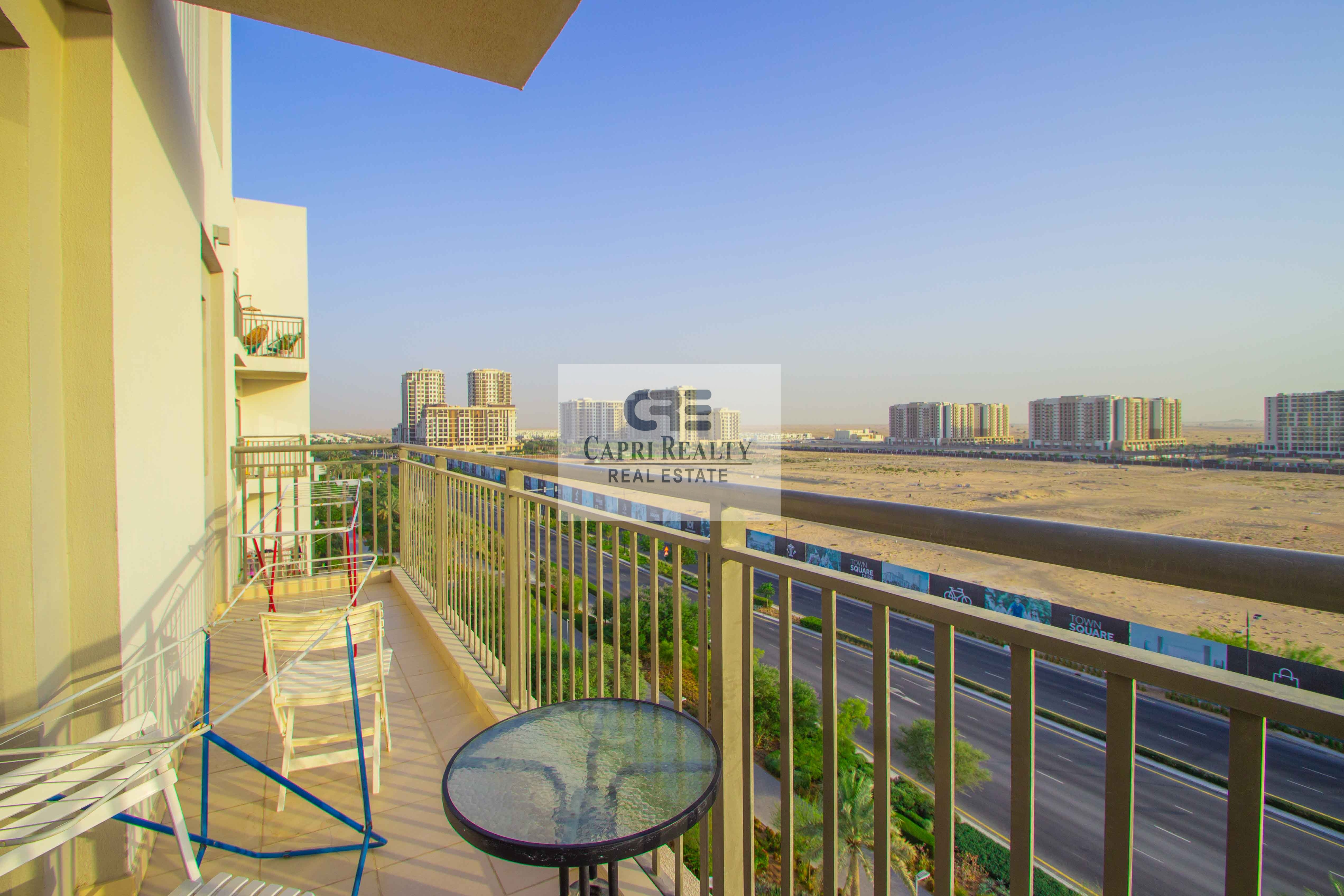 Spacious 3BHK+Maid Room  in Town Square Zahra Apartments at 900 K