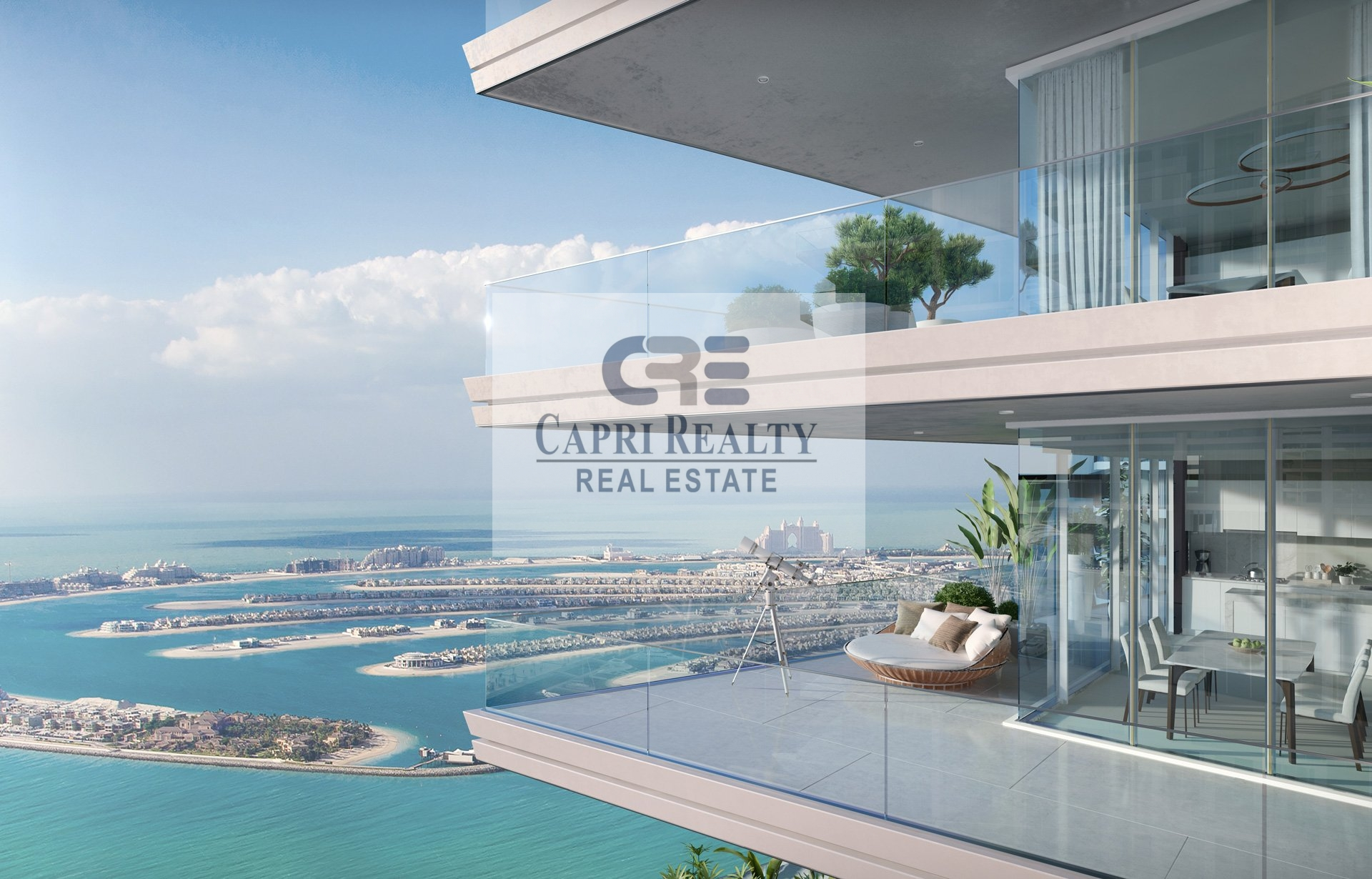 1st Palace Residence on Beach  Sea View  6.5 years payment plan