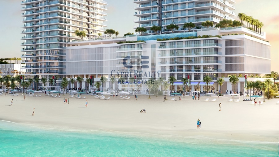 Pay in 6.5 years | Sea View | Private beach by EMAAR
