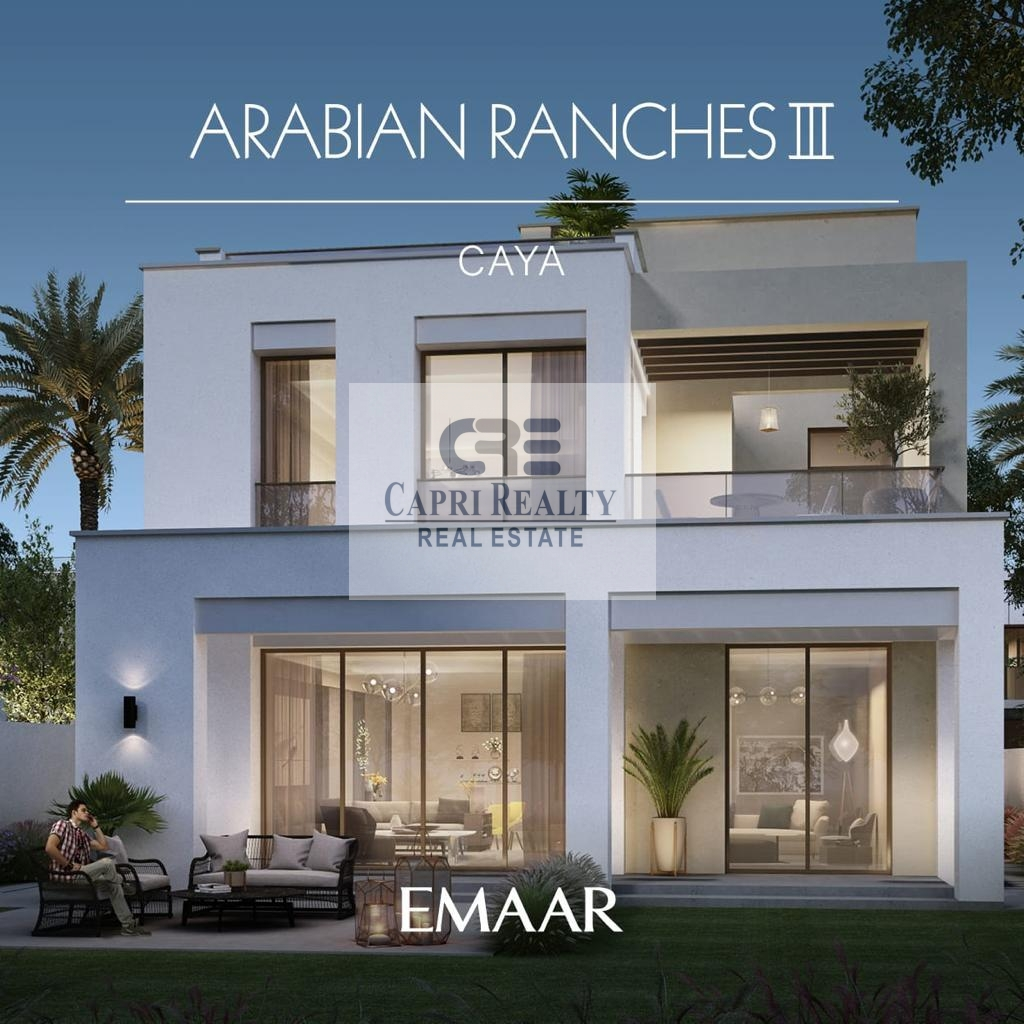 5 years Payment plan| Standalone villa by EMAAR