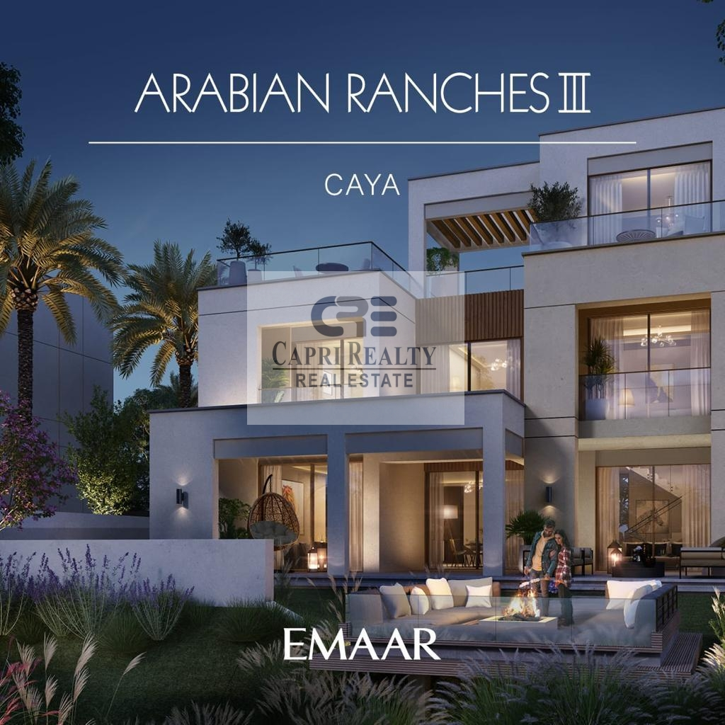 PAYMENT PLAN OF 4 YEARS| INDEPENDENT VILLA BY EMAAR