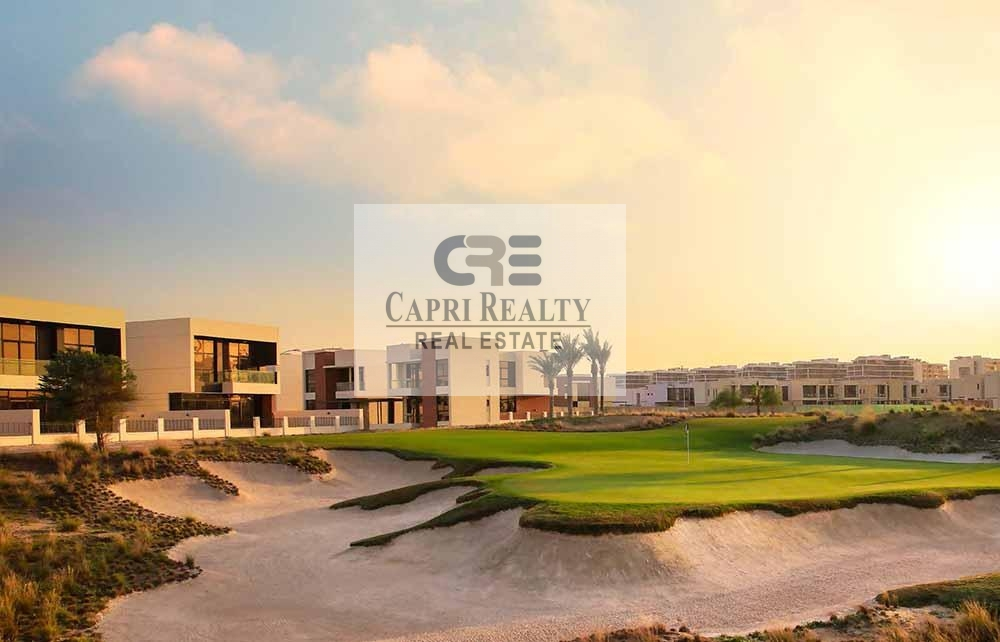 Payment plan of 5 years| on the golf course|New villas