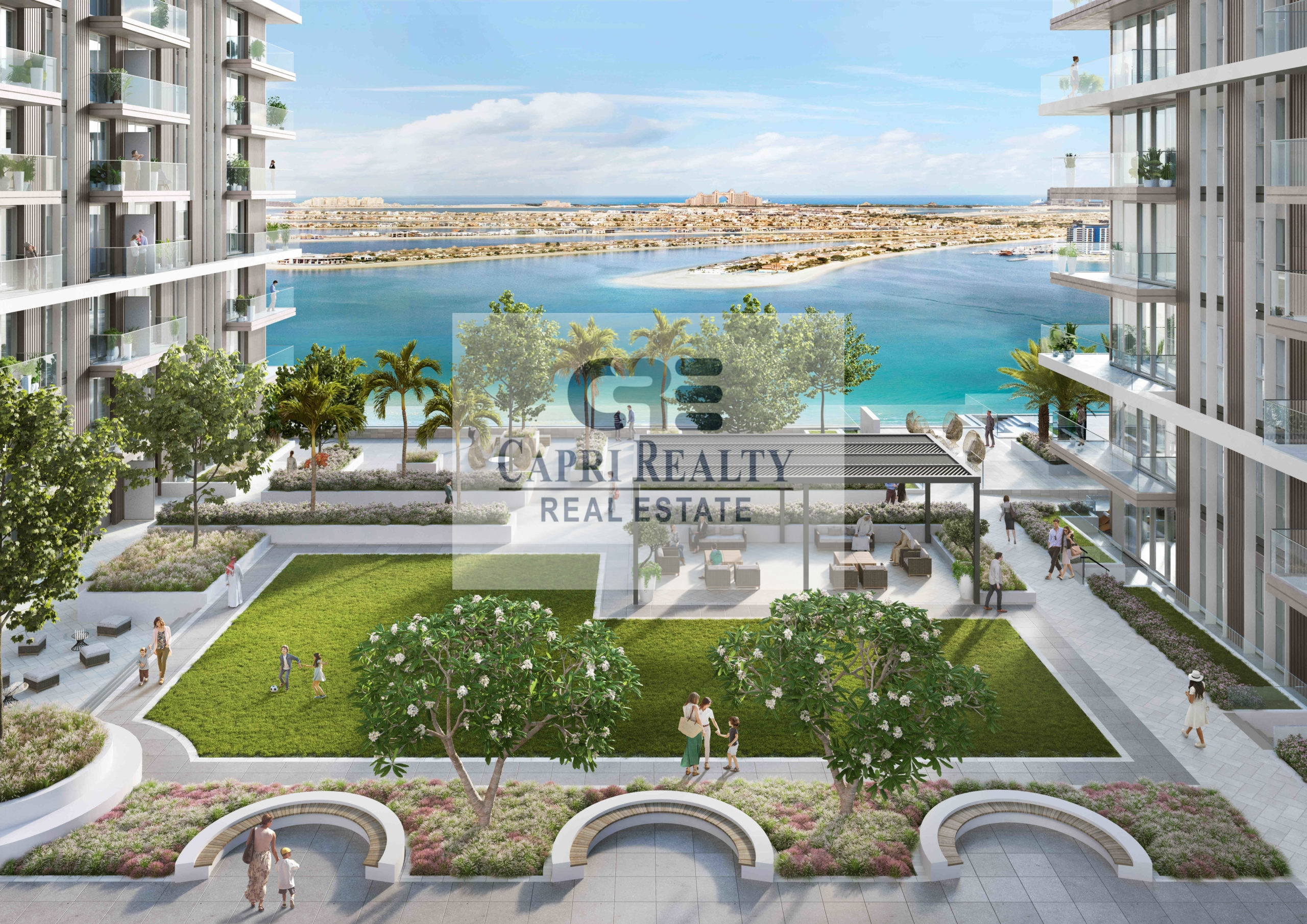 5 yrs payment plan Beach access Sea View  NEW TOWER