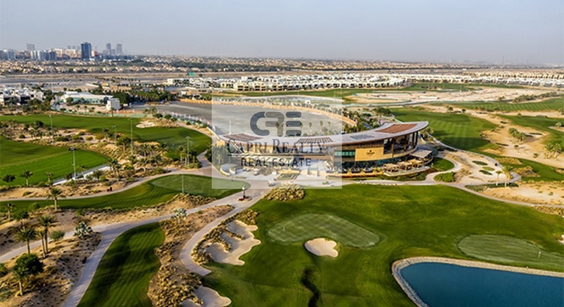 Payment plan of 5 years  on the golf course New villas