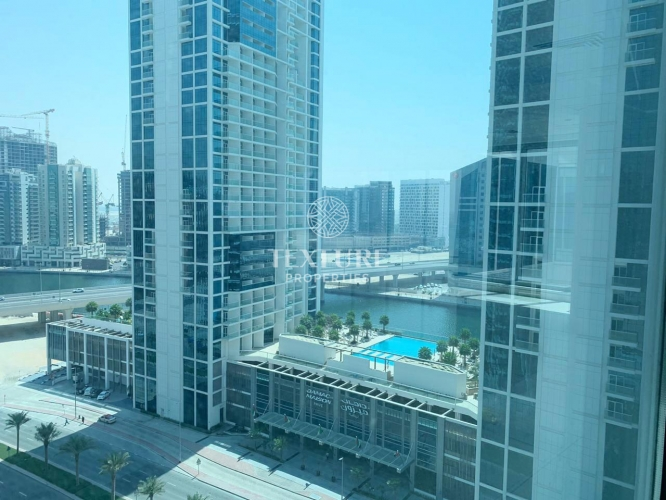 Huge & Spacious | Canal View | Office Space for Rent in Opal Tower | Business Bay