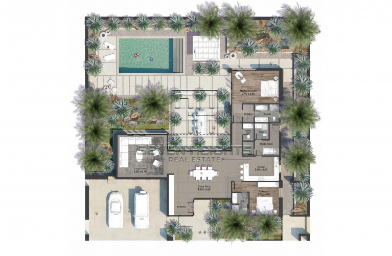 Fabulous Residential Plot Amazing Location Inside Natural Reserve .