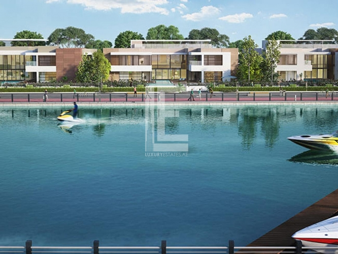 Plot Available | Water Canal Front Luxury Villa
