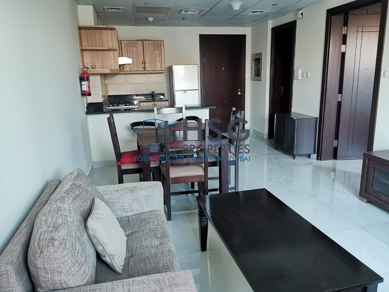 BRIGHT 1 BHK | FURNISHED | RENTED