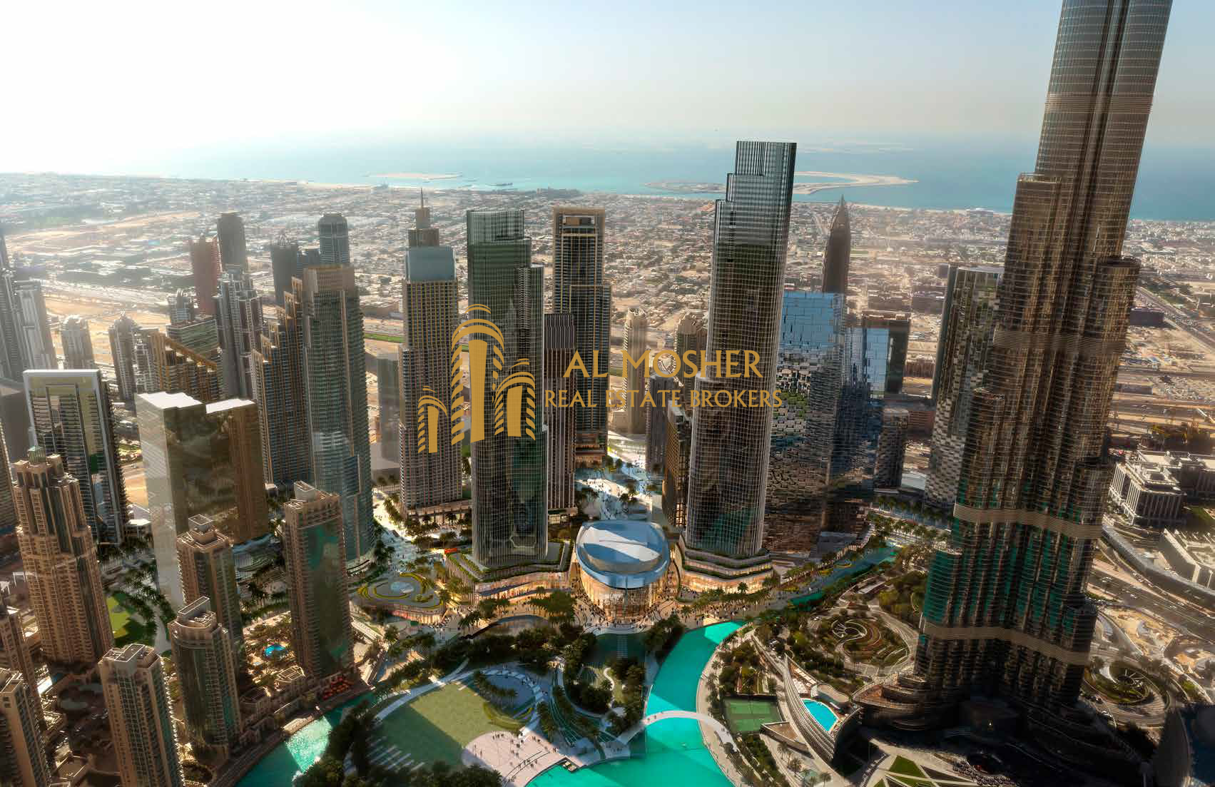 The Lowest Price 1BR in Boulevard Burj Khalifa View