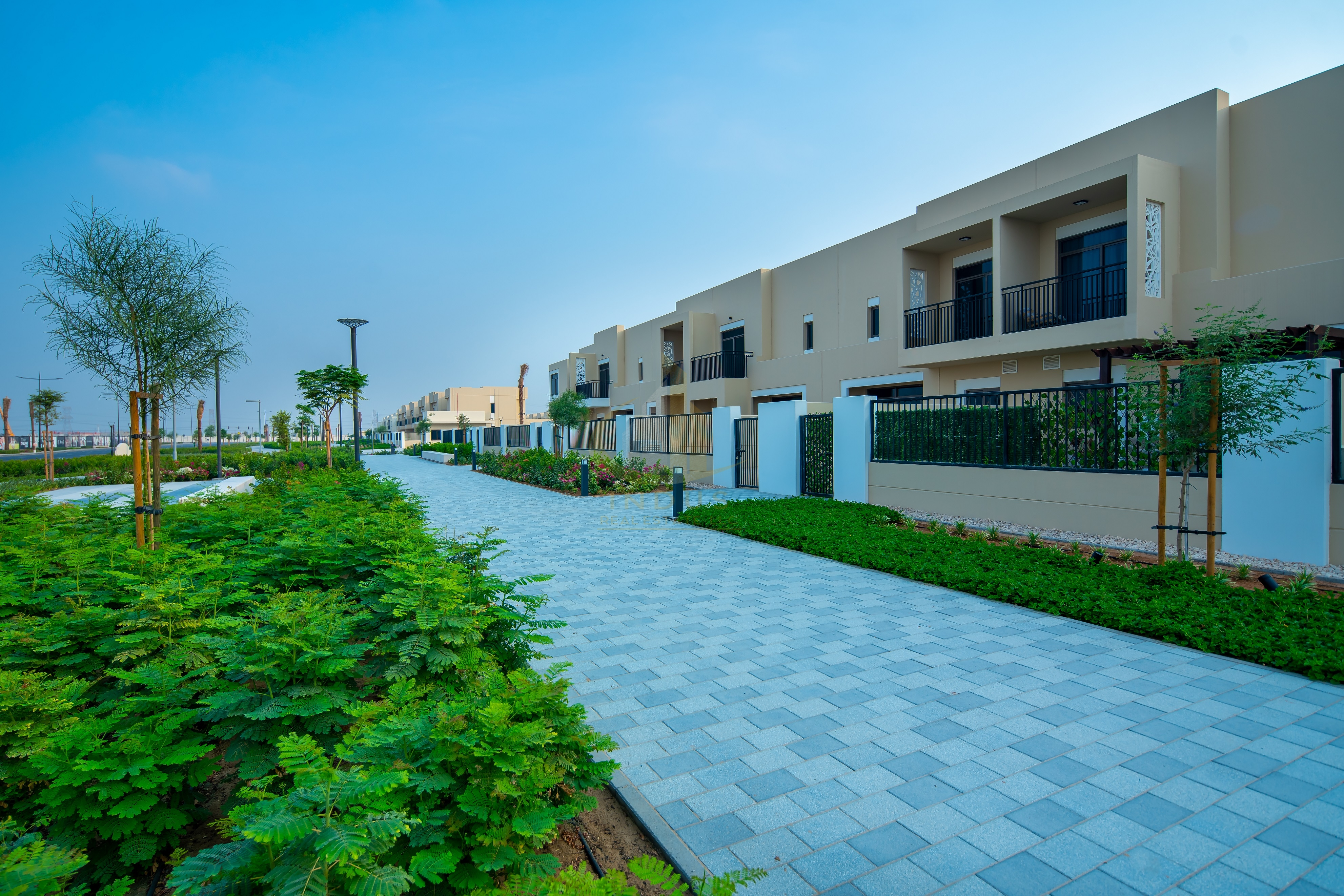 Ready To Move In  Single Row   Type 9   3 BR+M Safi Townhouse landscaping Done View
