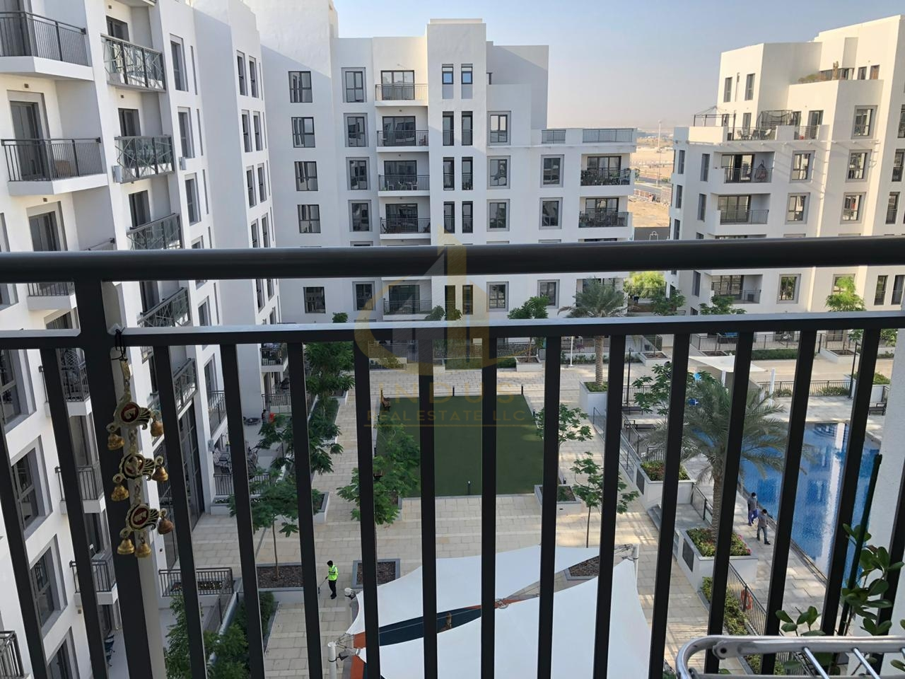 Furnished and Spacious  Pool view  with Balcony Image