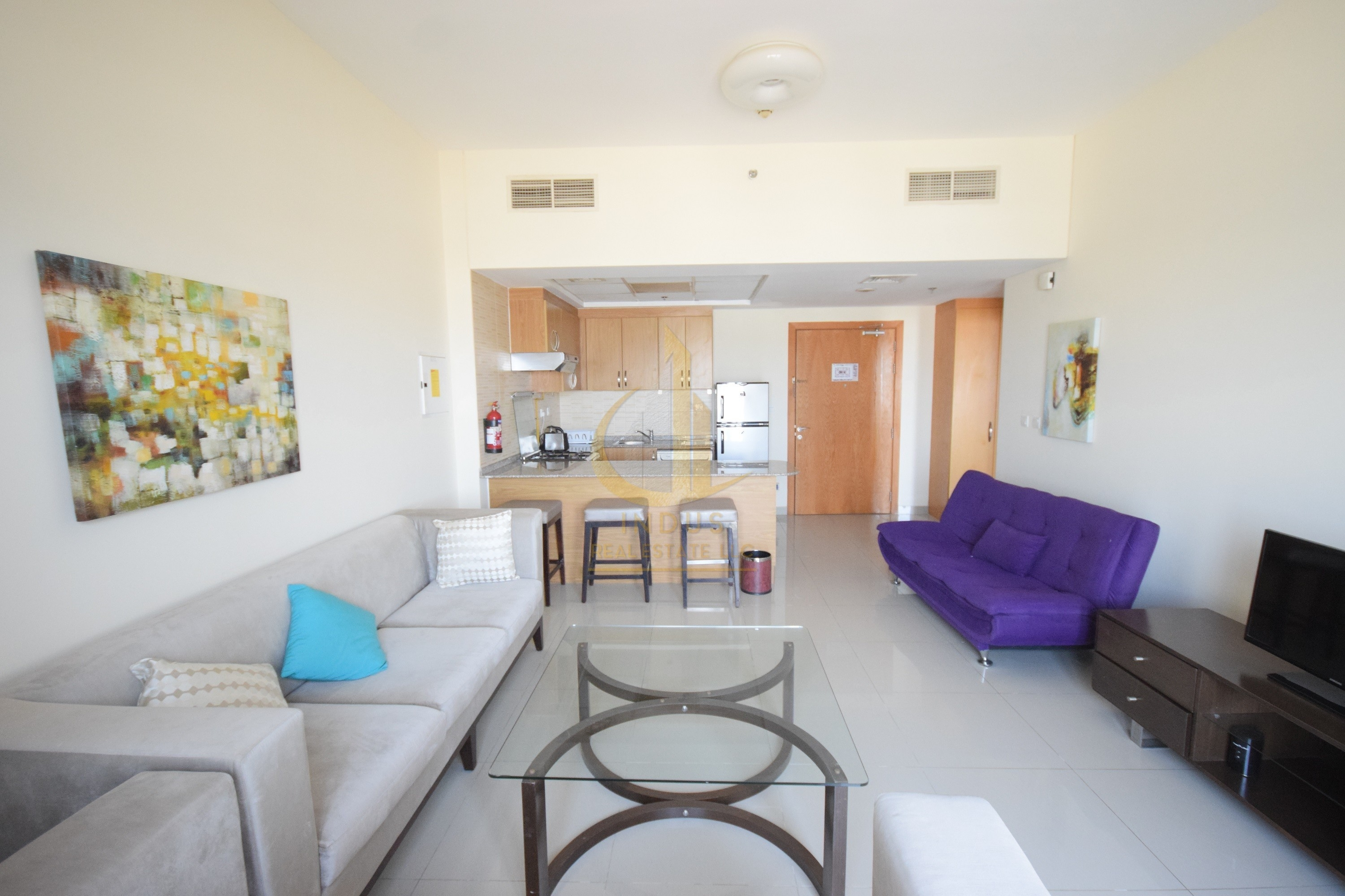 Fully Furnished   Luxury 1 BHK apartment with Balcony View
