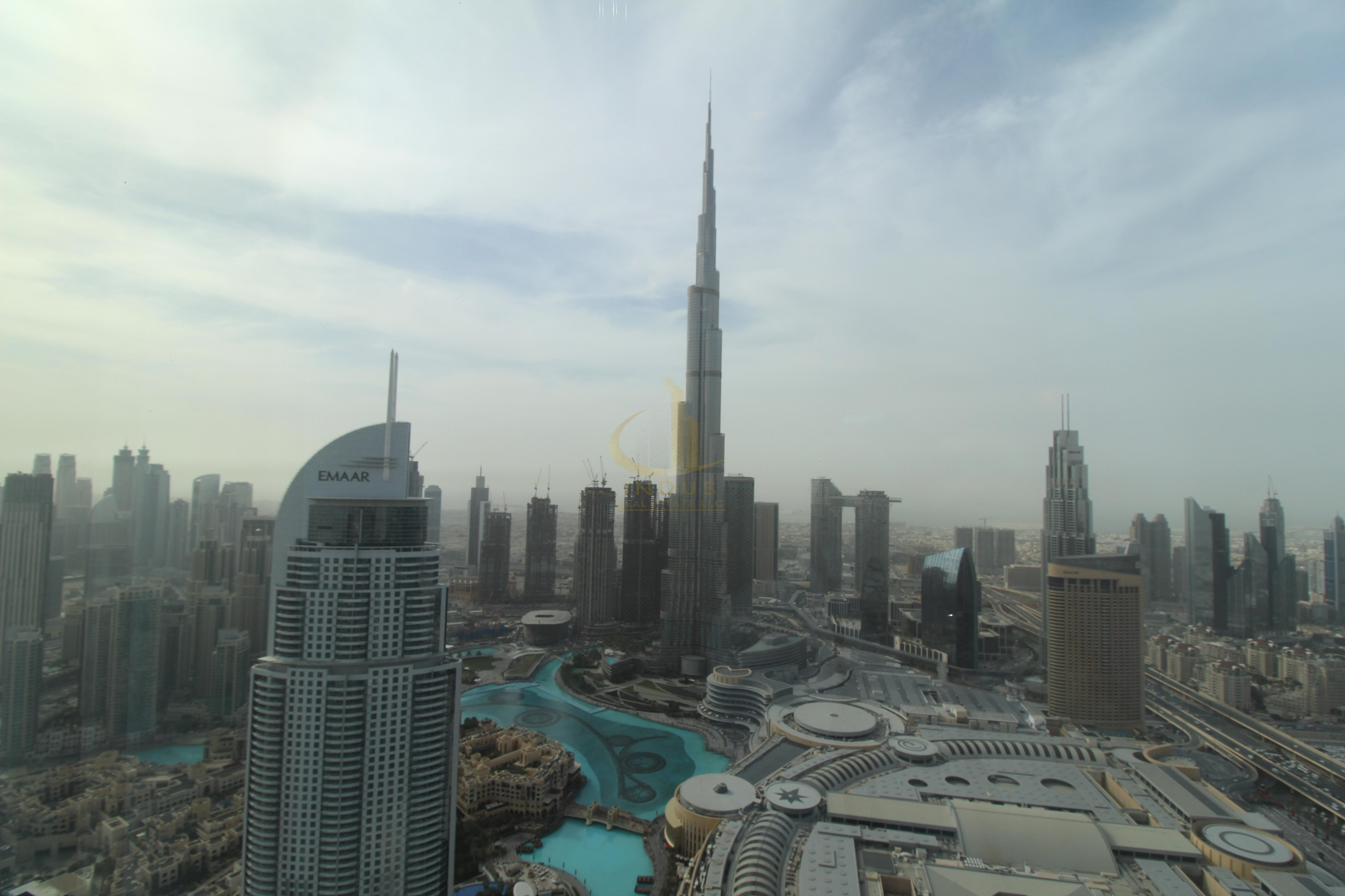 Full Burj and Fountain View |3Br +M| Sky collection Main image