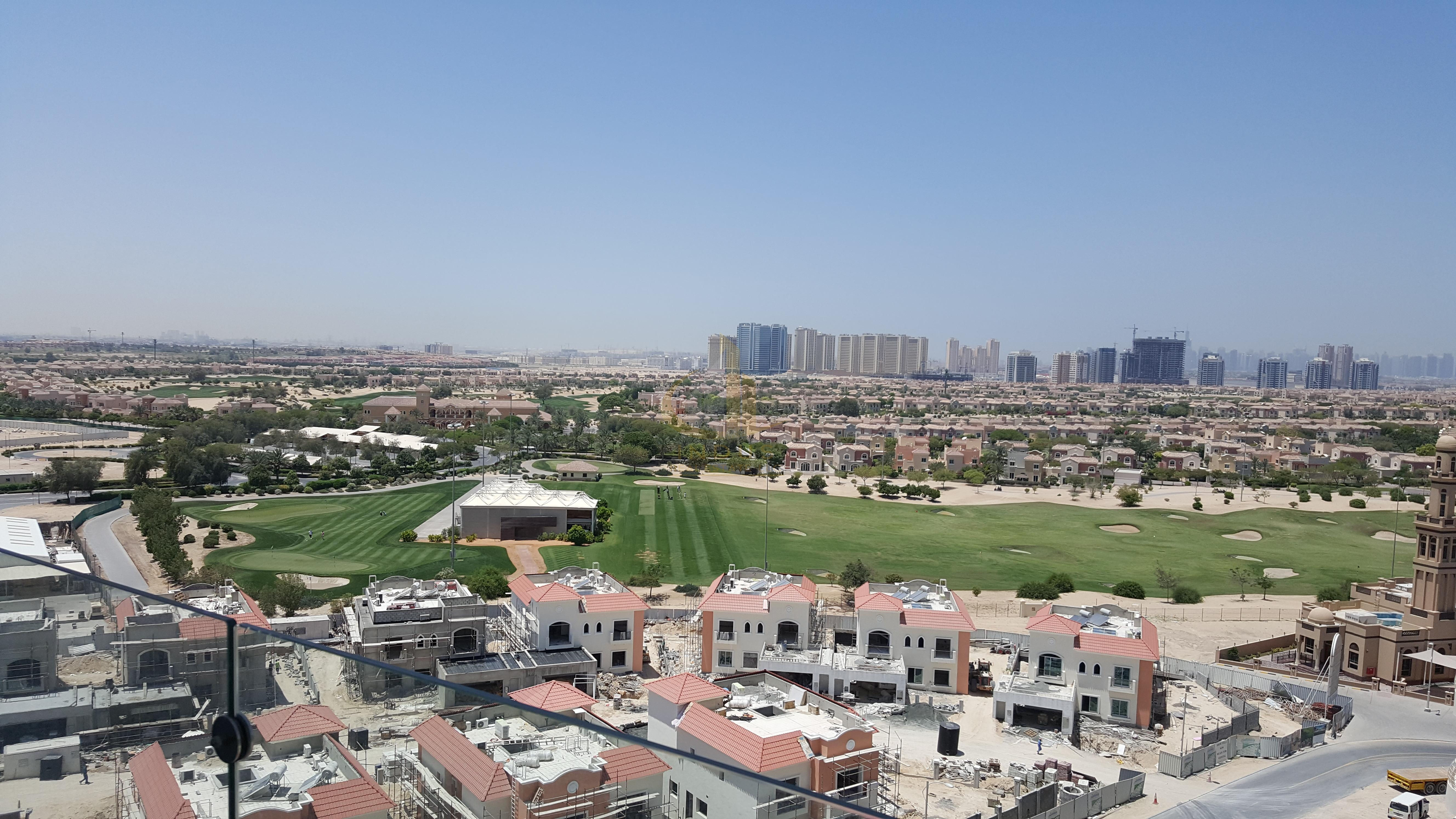 Full Golf Course View   Fully Furnished Studio   Ready to Move Main image
