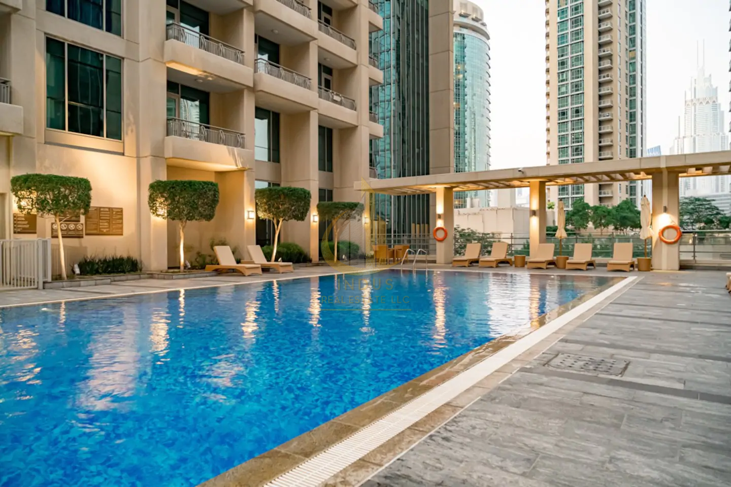 Partial Fountain and Burj Views | Vacant and Ready Main image