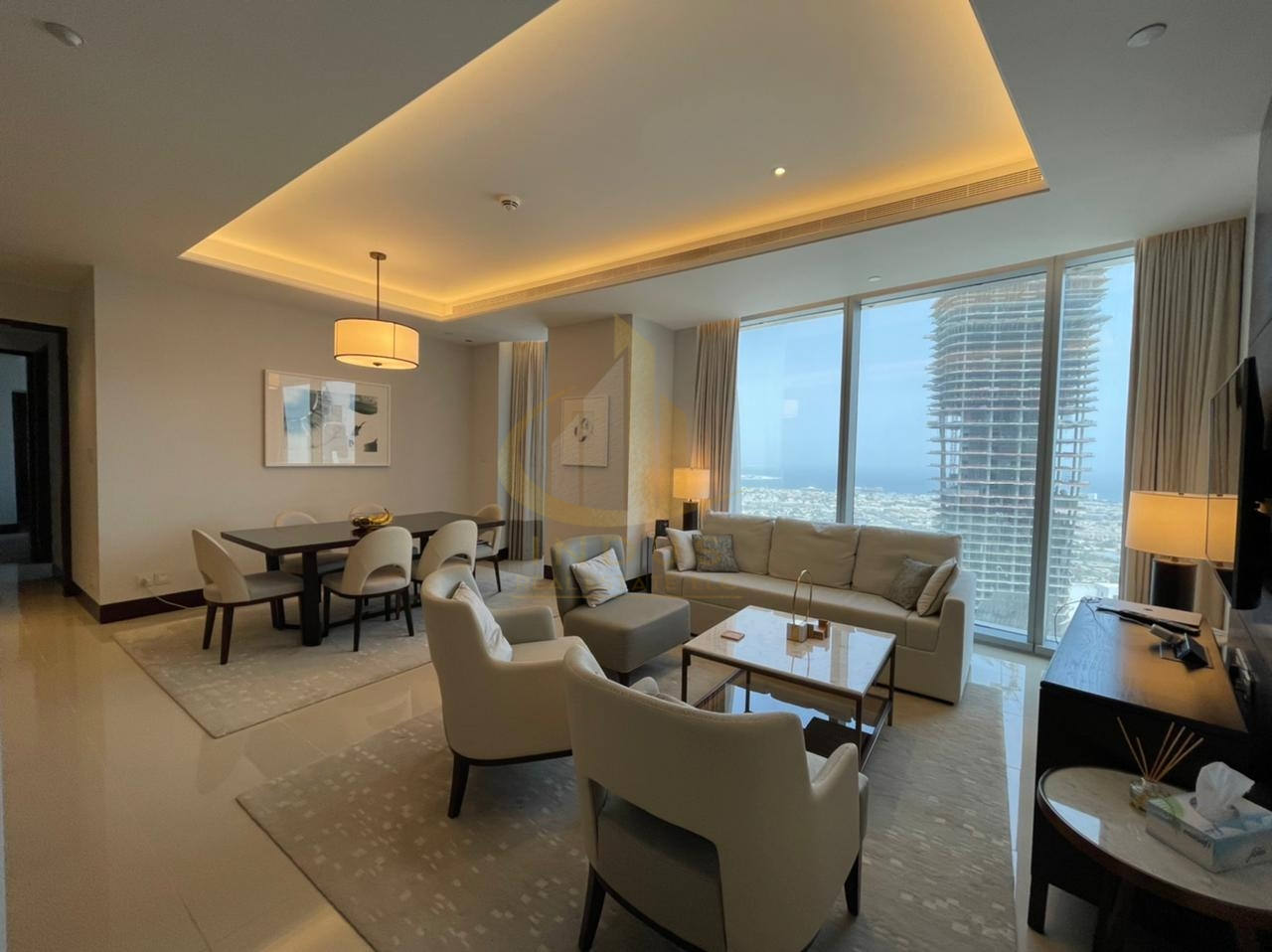 On High Floor   Luxurious and Fully Furnished   2 Bedrooms Main image