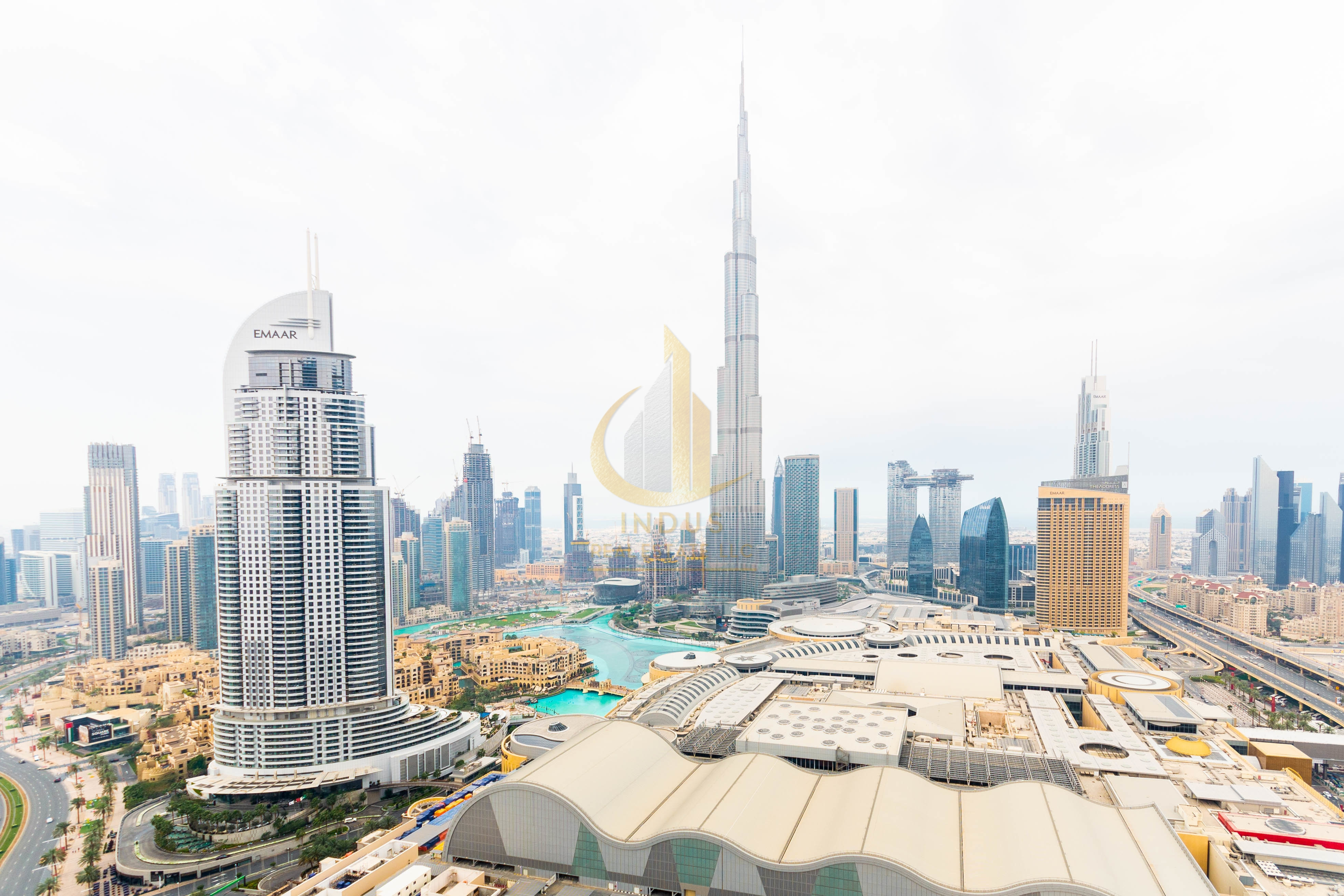 Full Burj and Fountain View   Luxury Fully furnished Main image