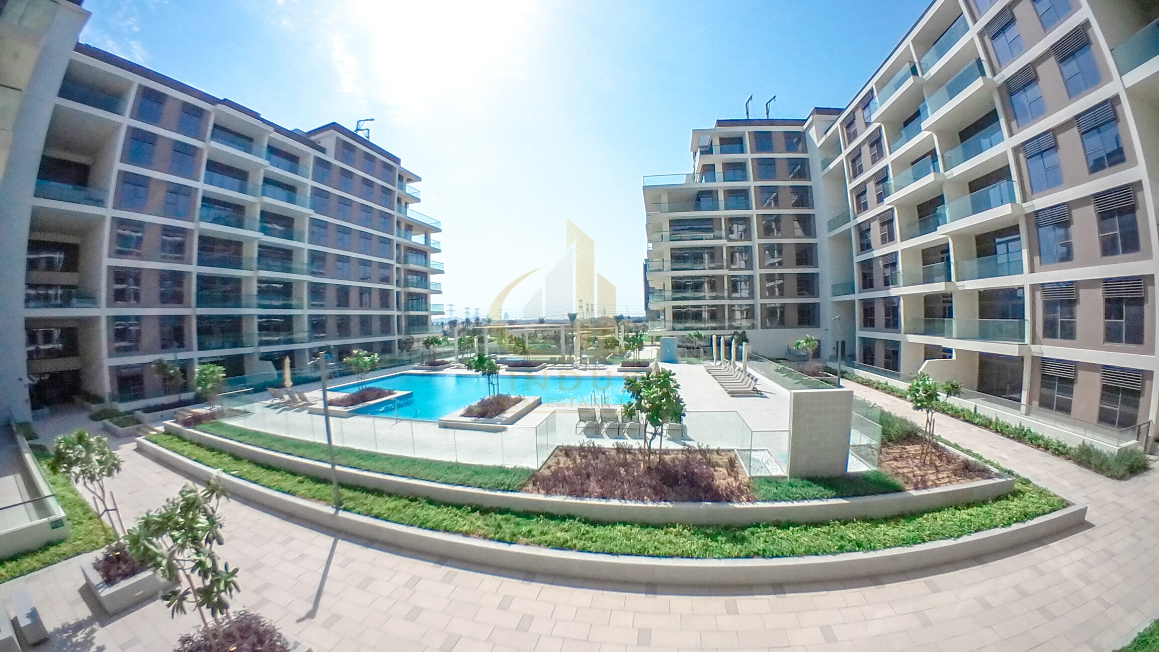 Genuine Listing   Park and Pool View   3BR + Maids Main image