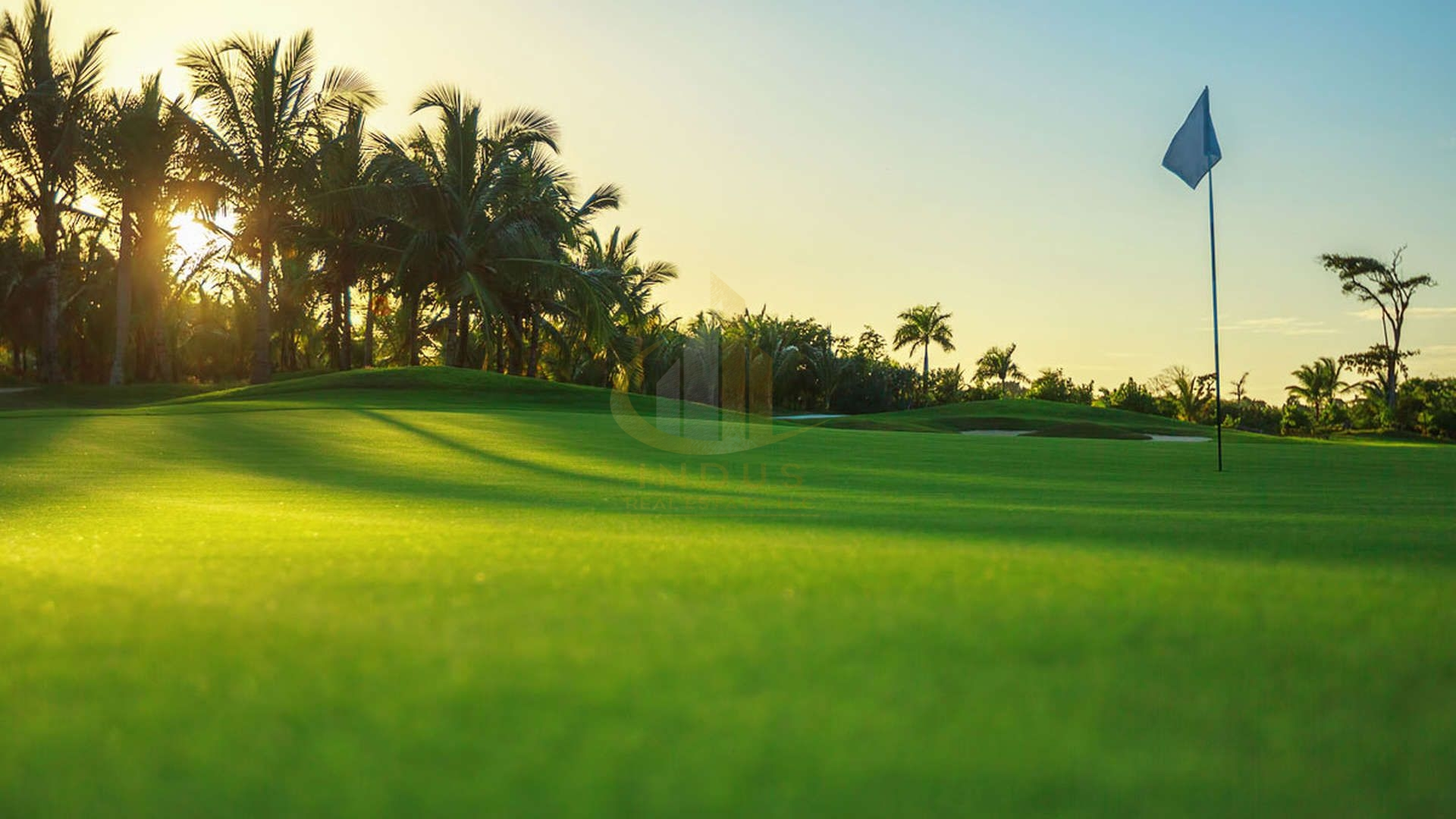 Homes with scenic views of golf course - A Prime Spot | Offplan Golf Suites DHE View