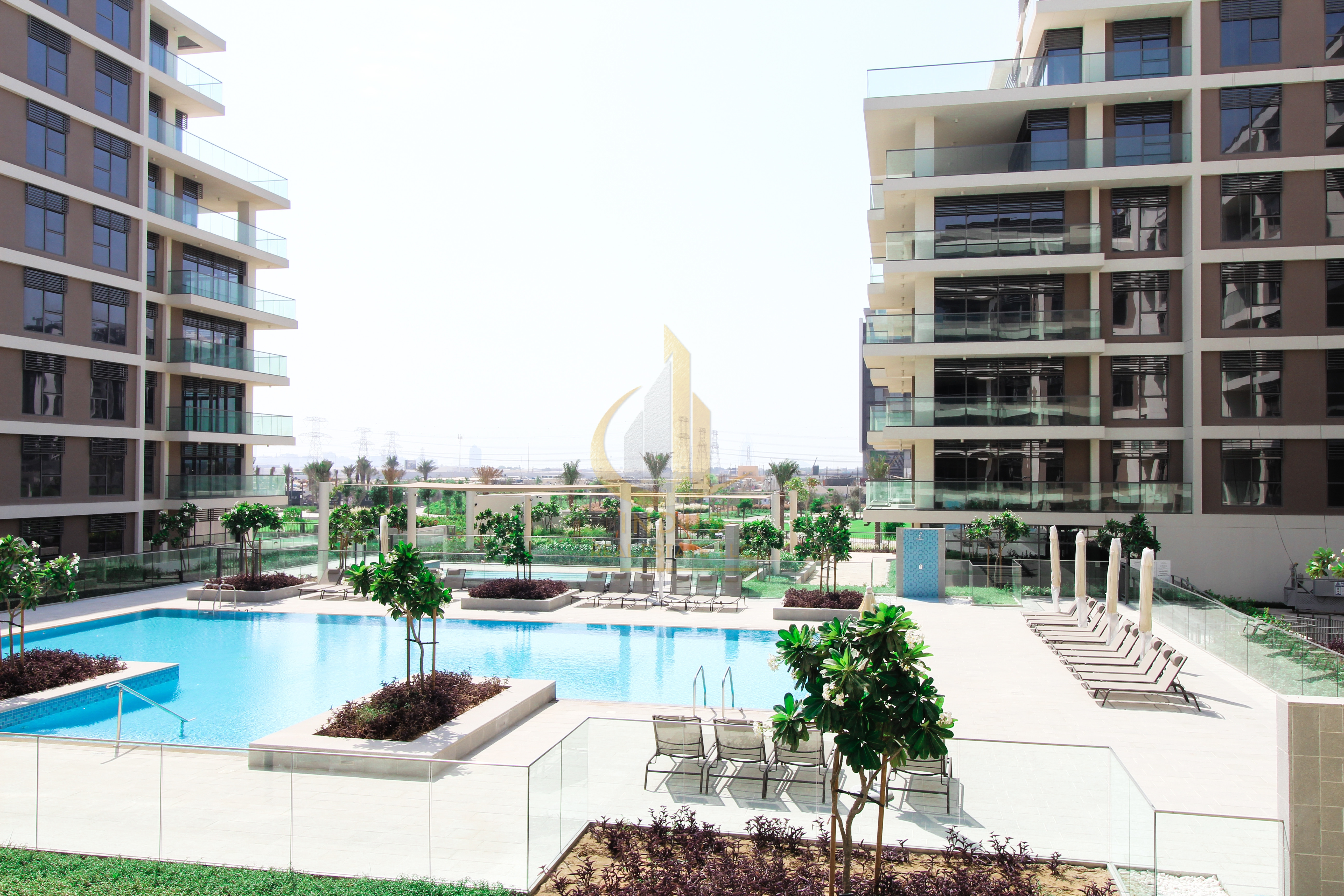 Park and Pool View | Genuine Listing | 3BR + Maids Image